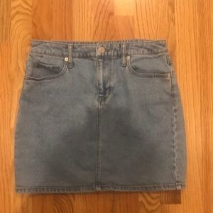 Light blue wash denim skirt Mossimo size 8/29